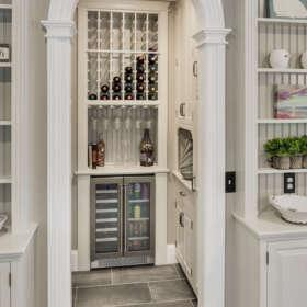 KEP Interior Designs Wine Closet